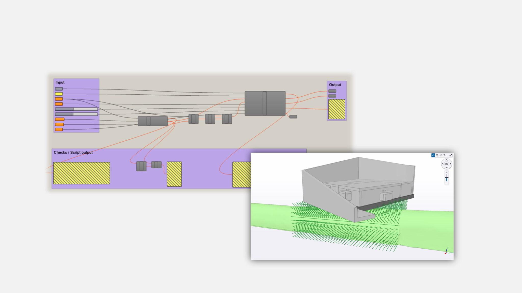 Parametrische 3D-Modellierung der Injektionsbohrungen