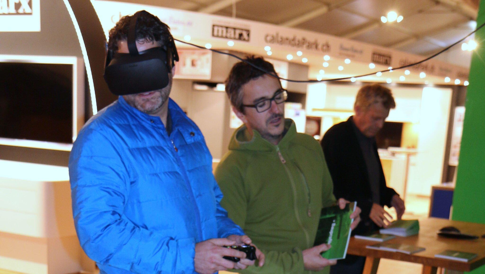 Virtual Reality (VR) - Betrachtung einer 3D-Punktwolke mittels Oculus-Brille